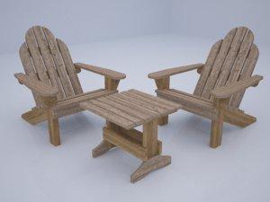 furniture outdoor model