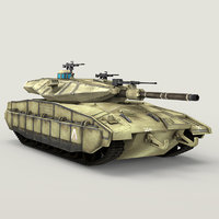 3D panther german tank vr model