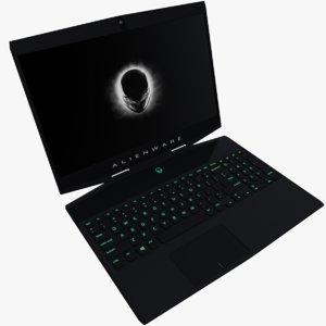 3D alienware m15 laptop