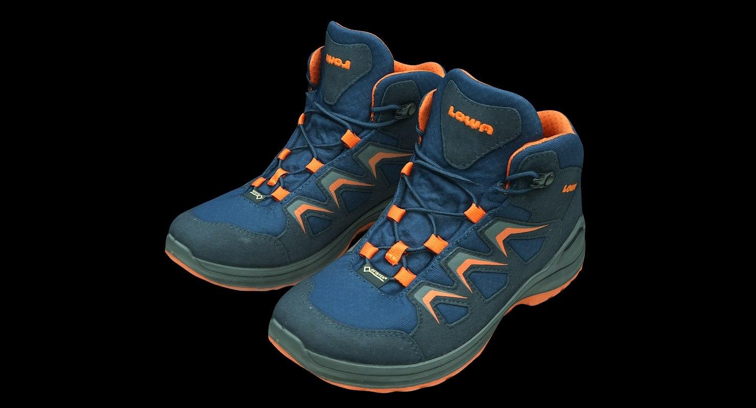 retopology shoes 3D model