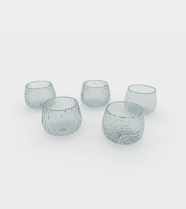 different water wine glasses model