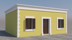 mexican house games 3D model