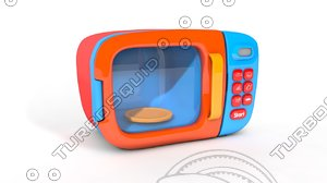 microwave kitchen toy model