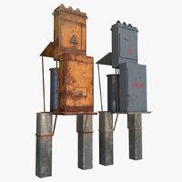 fusebox ktp electric 3D model