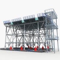 3D standing platform