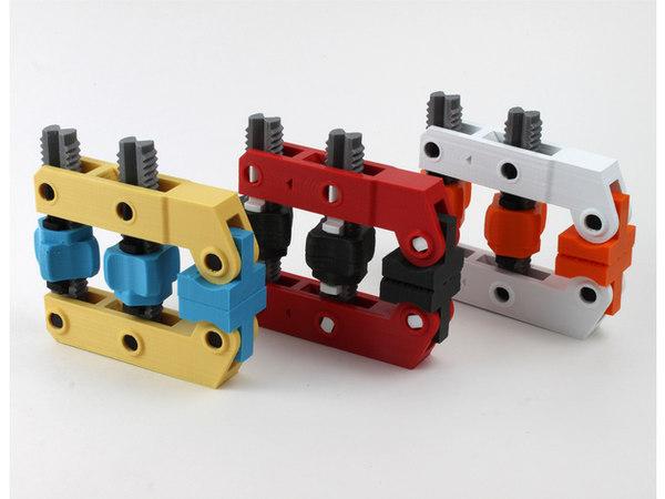 hand-screw clamp 3D model