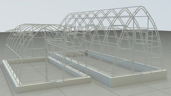 greenhouse houdini 3D