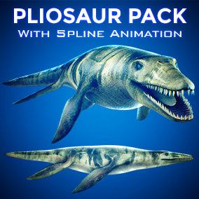 ocean pliosaur 3D model