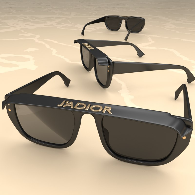 ef6eed6bd7 3D sun glasses sunglasses - TurboSquid 1404616