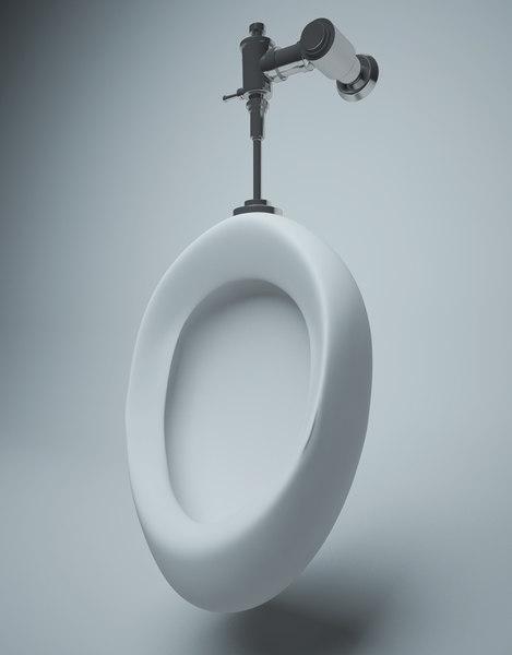3D urinal