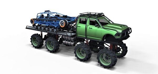 vehicle concept tracked 3D