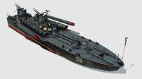 USSR torpedo boat project 123 BIS Komsomolets