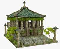 Lost Asian Temple Ruins