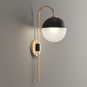 adjustable arm wall sconce 3D