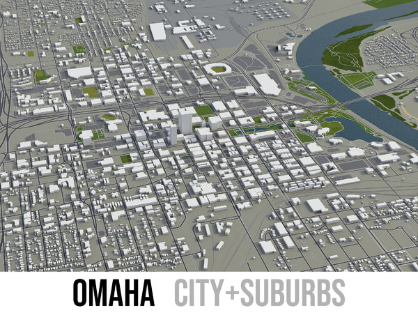 city omaha surrounding area model