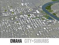 city omaha surrounding area model