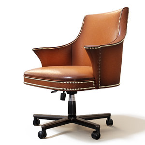 century chair wing 3D model