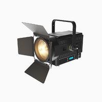 realistic theatre spotlight eurolight 3D model