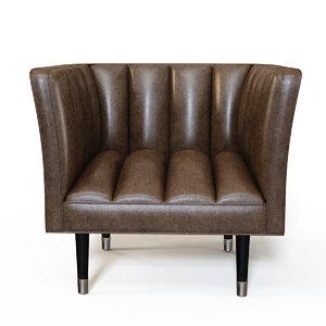 arteriors christophe chair model