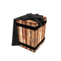 3D loft pouf