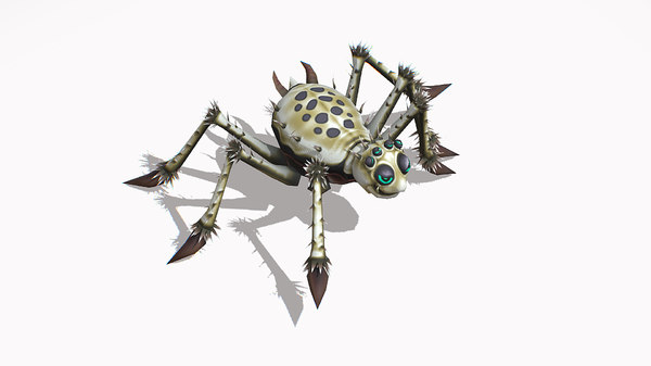 3D insect spider funny