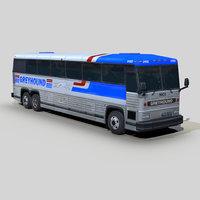 mci mc-12 coach bus 3D model