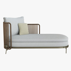 tape cord paolina daybed 3D model
