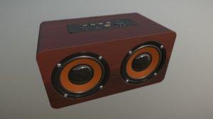 bluetooth speaker 3D model