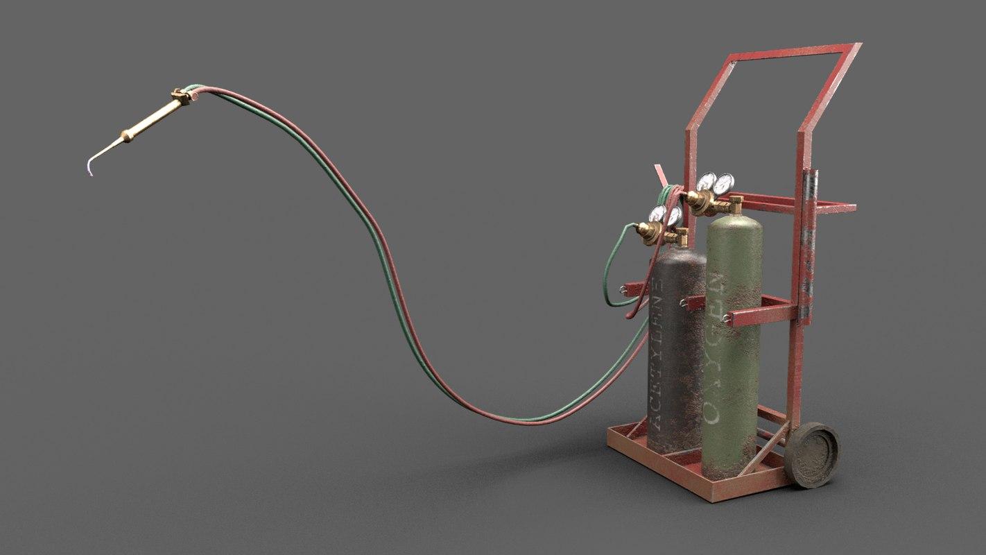 3D pbr welding setup