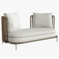 3D model sofa interior 2