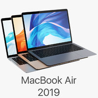 3D apple macbook air 13-inch