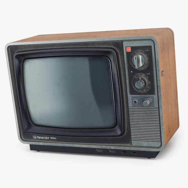 old tv national panacolor model