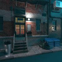 alley street model