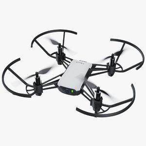 3D dji tello drone model