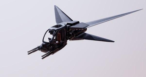 fi fighter 3D model