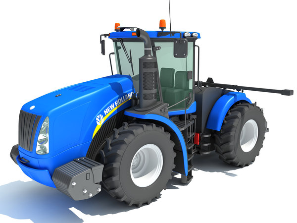 3D new holland tractor