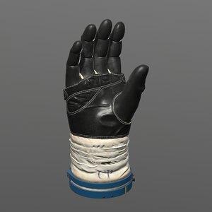 3D cosmonaut glove