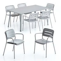Kettal Village Dining Table and Chair