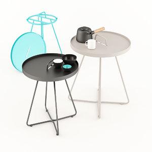 cane line table 3D model