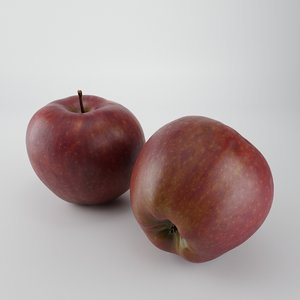 scan apple 3D model