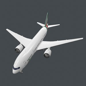 3D model real-time b772 pbr