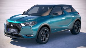 ds3 crossback 2019 3D