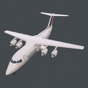 real-time rj85 pbr 3D