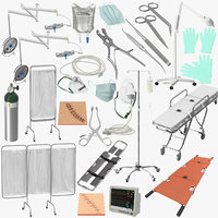 Surgery Tools and Equipment Collection
