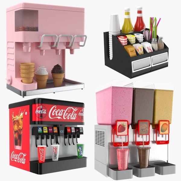 dispensers cafes restaurant model