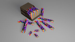 3D pack wafer model