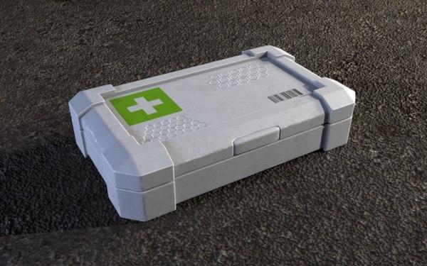 aid kit 3D