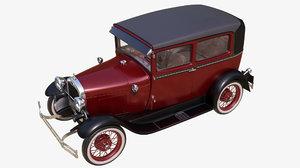 ready 1929 modeled 3D model