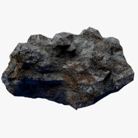 3D rocky asteroid 2