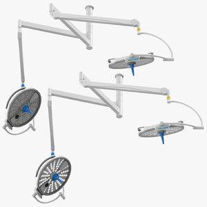 3D surgical lights model